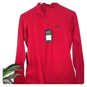 Red Nike running jacket